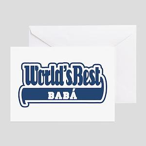 WB Dad [Greek] Greeting Cards (Pk of 10)